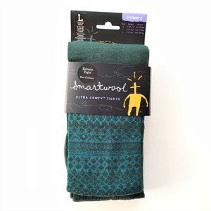 NWT! SMARTWOOL Merino Wool Estonia Tight, Large